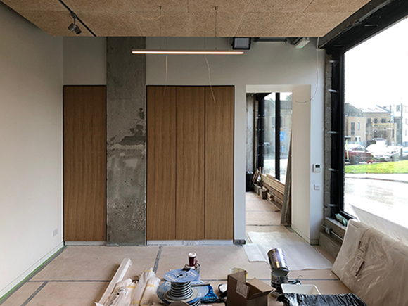 Voss Architects East Photographic London Hackney Crossway Site 190130 01